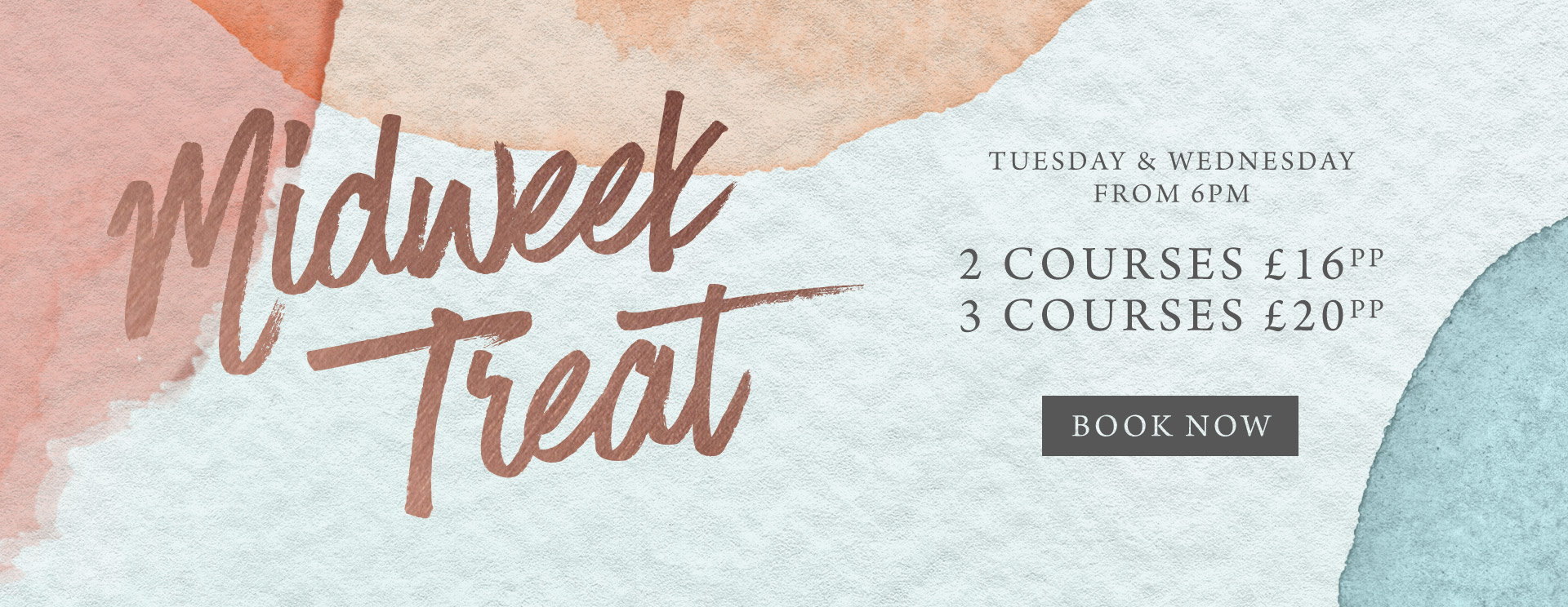 Midweek treat at The Oat Sheaf - Book now